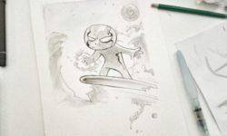 silversurfer per fumetto bambini